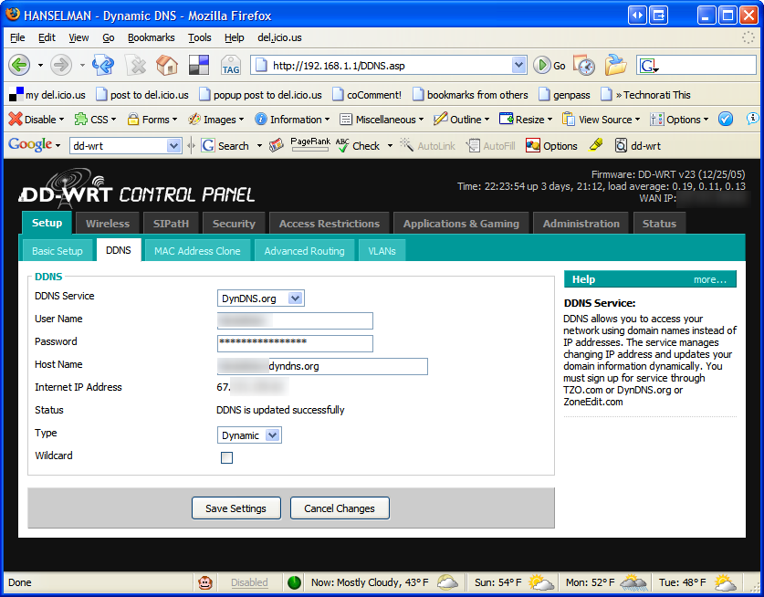 Configuring PPTP VPN with alternate Linksys Router Firmware - Scott ...