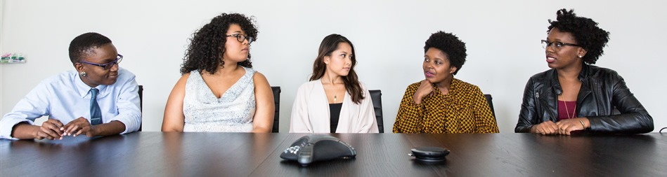 "Stock photo used under CC from WoCinTechChat's ""stock photos of women of color in tech"""