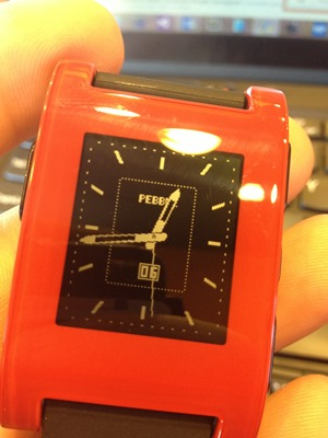 You can change up your Pebble Watch Face with your mood