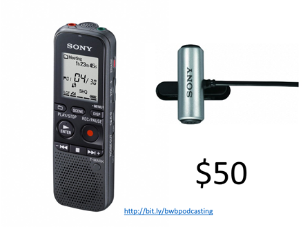 Sony Portable Recorder