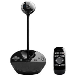 Logitech BCC950 ConferenceCam, HD 1080p Video at 30 fps, 78deg. Field of View, USB 2.0 Compliant