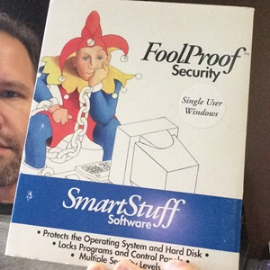 I helped write FoolProof Software for Windows