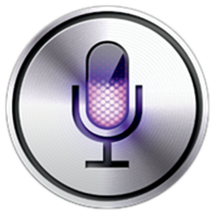 The Siri icon is an old time radio microphone
