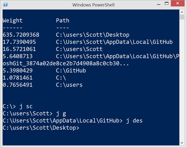 jump location a change directory cd powershell command that rh hanselman com Windows PowerShell Logo Windows PowerShell Logo