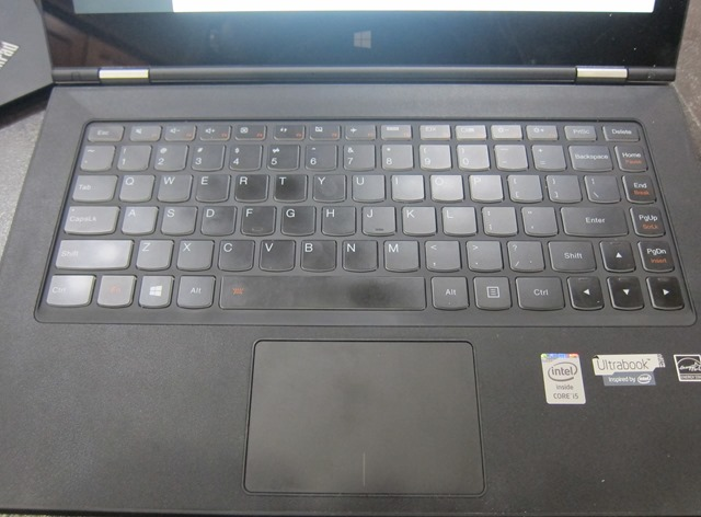 Yoga 2 Pro Keyboard