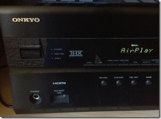 My Onkyo Receiver now supports AirPlay with a little help from Raspberry Pi
