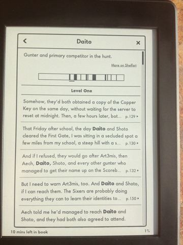 Kindle Paperwhite with X-Ray