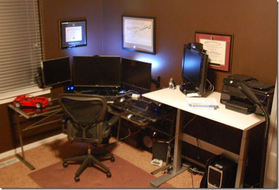 My office, which I am very happy with