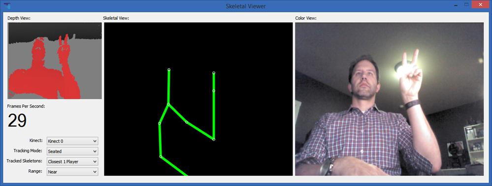 Me on Kinect