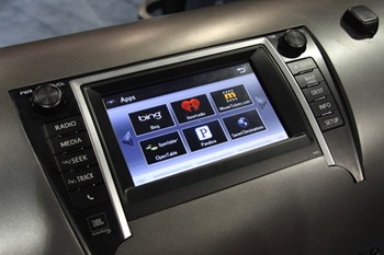 Toyota Entune In Dash computer