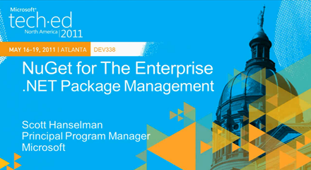 NuGet: Microsoft .NET Package Management for the Enterprise