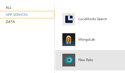 Adding New Relic to my Azure Portal