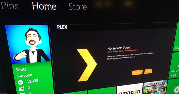 Plex on Xbox One