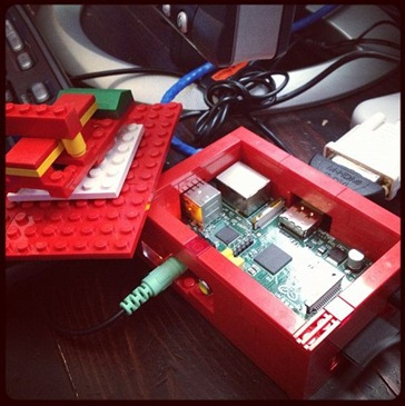 Raspberry PI in a LEGO Case