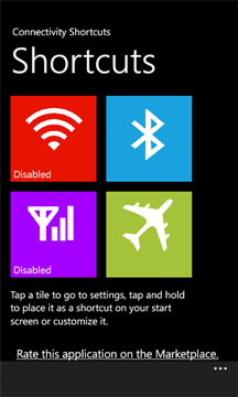 Wifi Shortcuts for Windows Phone