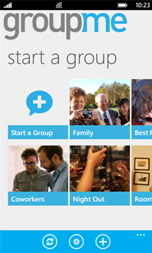 GroupMe for Windows Phone