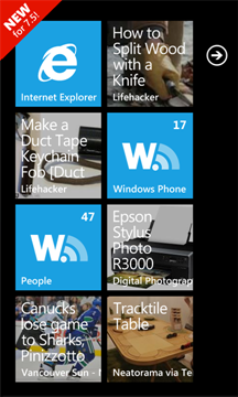 Wonder Reader google reader for Windows Phone
