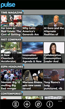 Pulse News Reader for Windows Phone