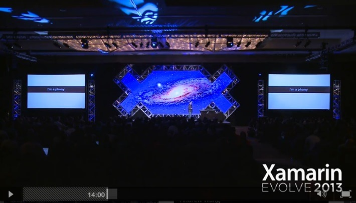 My Talk at Xamarin Evolve