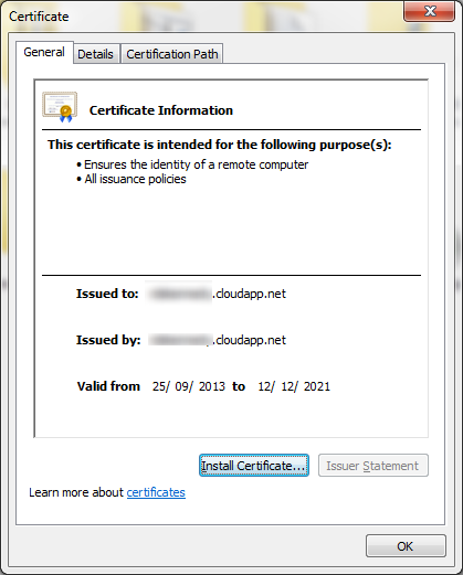 06 - Certificate Install