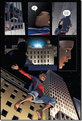 Ultimate Spider-man in the Comixology App