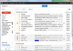 My gmail looks like a terminal if you squint