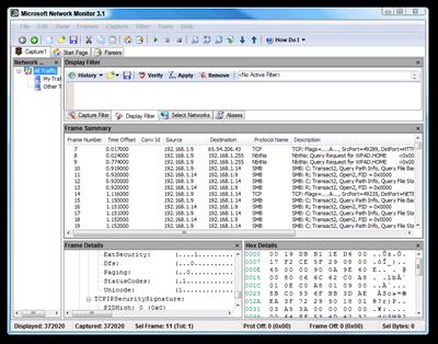 Microsoft Network Monitor 3.1
