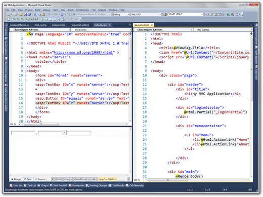 WebApplication1 - Microsoft Visual Studio (16)