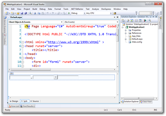WebApplication1 - Microsoft Visual Studio (7)