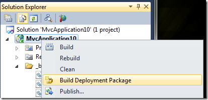 Build Deployment Package