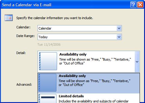 Best Outlook 2007 Improvement - Include Calendar - Scott ...