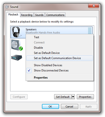 bluetooth headset drivers windows 7