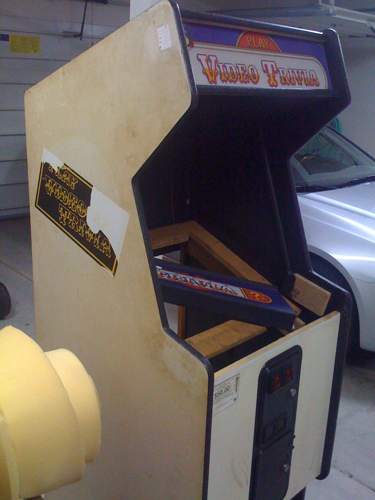 Building your own Arcade Cabinet for Geeks Part 5 Paint and Art