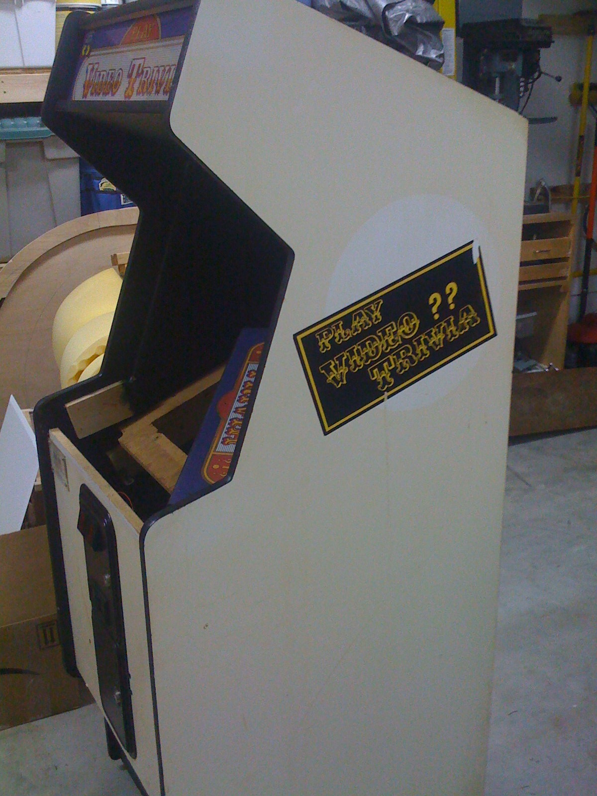 Arcade Cabinet Dimensions Building Your Own Arcade Cabinet For Geeks Part 1 The Cabinet