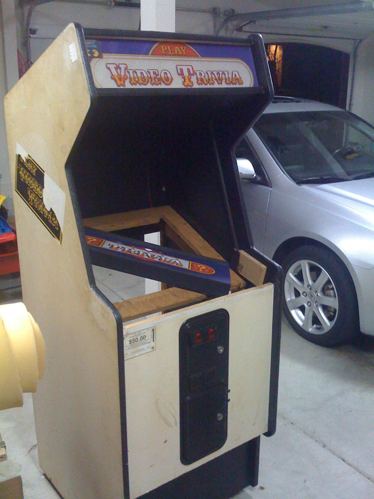 Building your own Arcade Cabinet for Geeks - Part 1 - The Cabinet ...