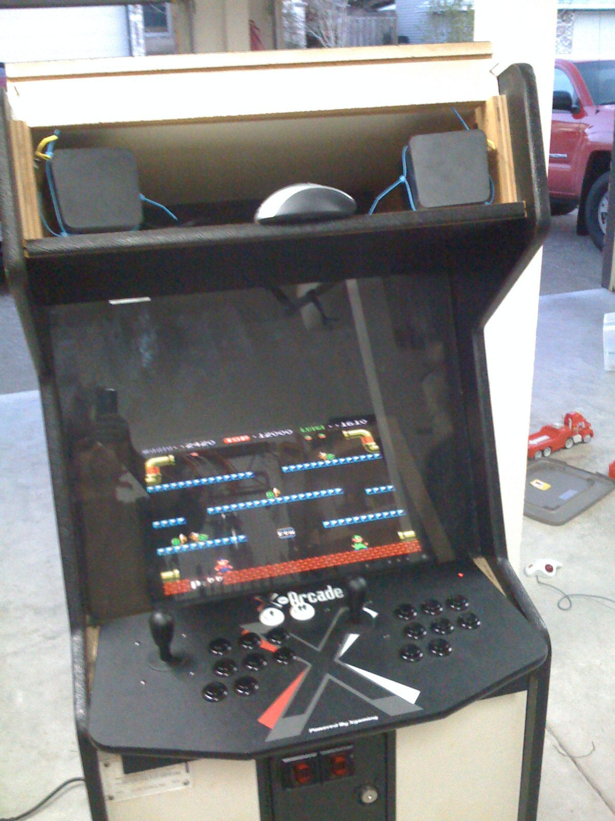 Building your own arcade cabinet for geeks part 2 the monitor img0093 malvernweather Gallery