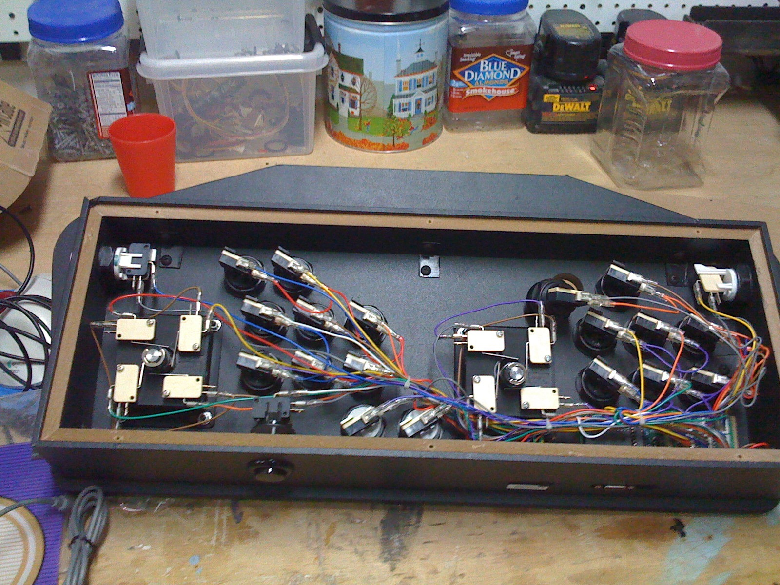 Building your own Arcade Cabinet for Geeks - Part 3 - Control ...