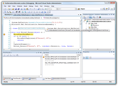 XmlSerializerAlternateLocation (Debugging) - Microsoft Visual Studio (Administrator) (2)