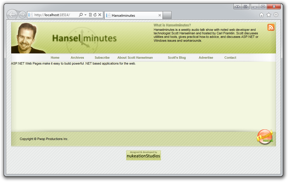Hanselminutes.com: Rewriting a 5 year old VB.NET WebForms ...
