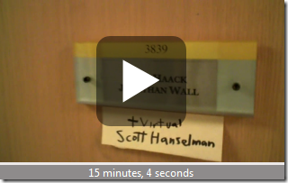 Virtual Scott Hanselman