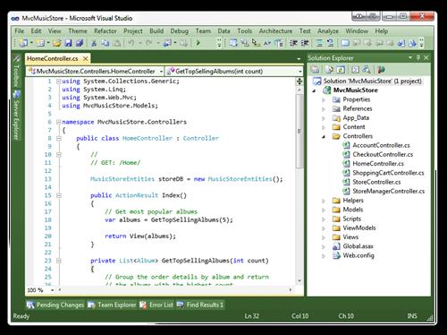 MvcMusicStore - Microsoft Visual Studio (7)