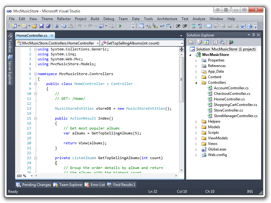 Make the visual studio 2010 ide colors look like visual studio 2008 default visual studio 2010 theme ccuart Images