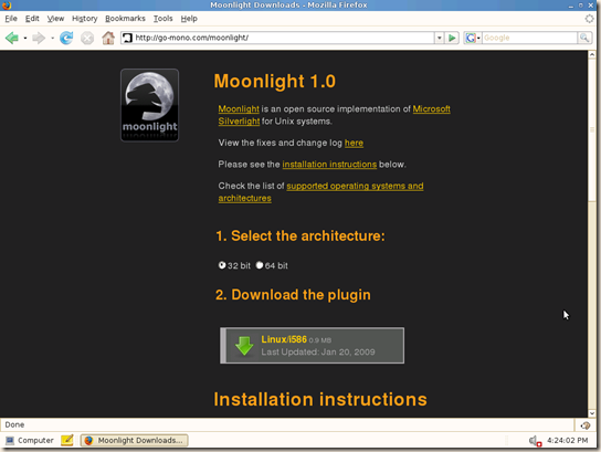 Moonlight Install Step 2