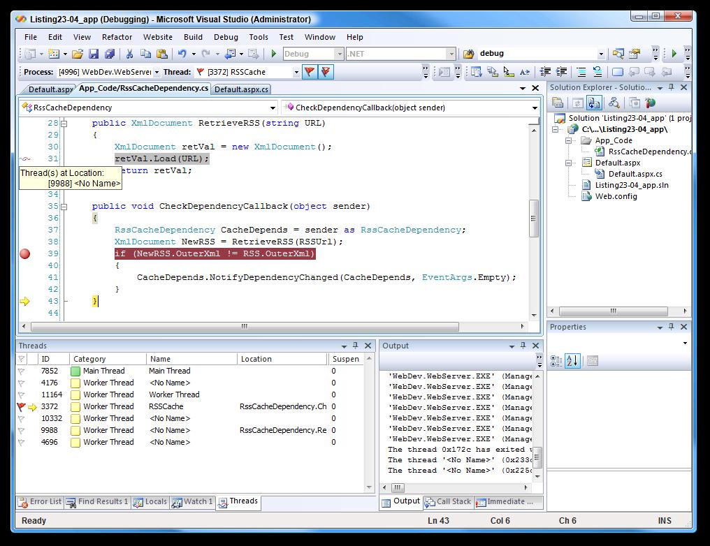 Take a look at the IDE screenshot below  click to Zoom  Visual Studio 2008 Logo