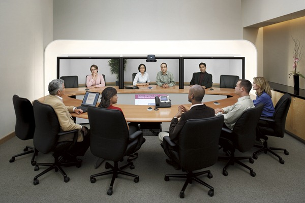 Crazy Telepresence Room