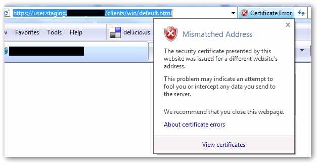Some Trouble with Wildcard SSL Certificates, FireFox and RFC2818 ...