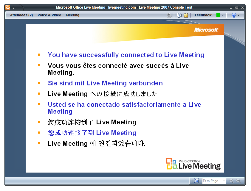 How to troubleshoot problems with Live Meeting | Techgenie
