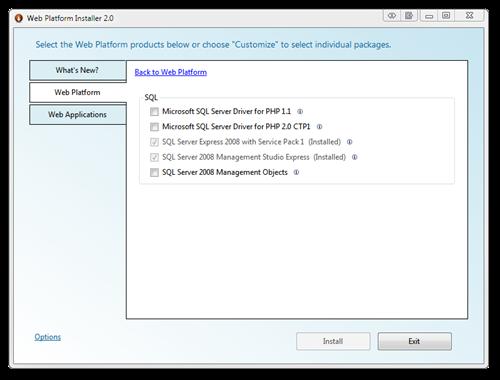 Web Platform Installer 2.0 (3)