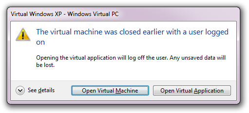 Virtual Windows XP - Windows Virtual PC (2)