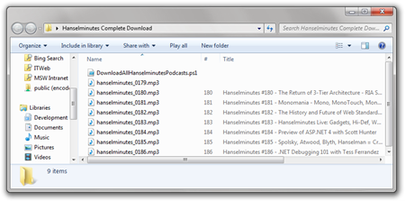 Hanselminutes Complete Download
